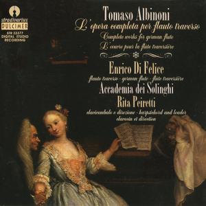 Enrico Di Felice, Accademia dei Solinghi - Albinoni: L'opera completa per flauto traverso Vol. 1 (1995)