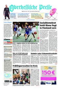 Oberhessische Presse Marburg/Ostkreis - 15. April 2019