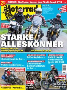 Motorradfahrer - Juni 2019