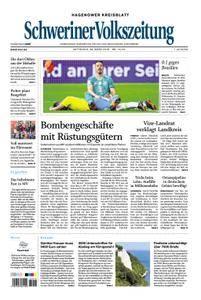 Schweriner Volkszeitung Hagenower Kreisblatt - 28. März 2018