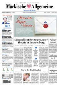 Märkische Allgemeine Westhavelländer - 08. August 2018