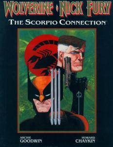 Marvel Graphic Novel 50 - Wolverine - Nick Fury - The Scorpio Connection 1989