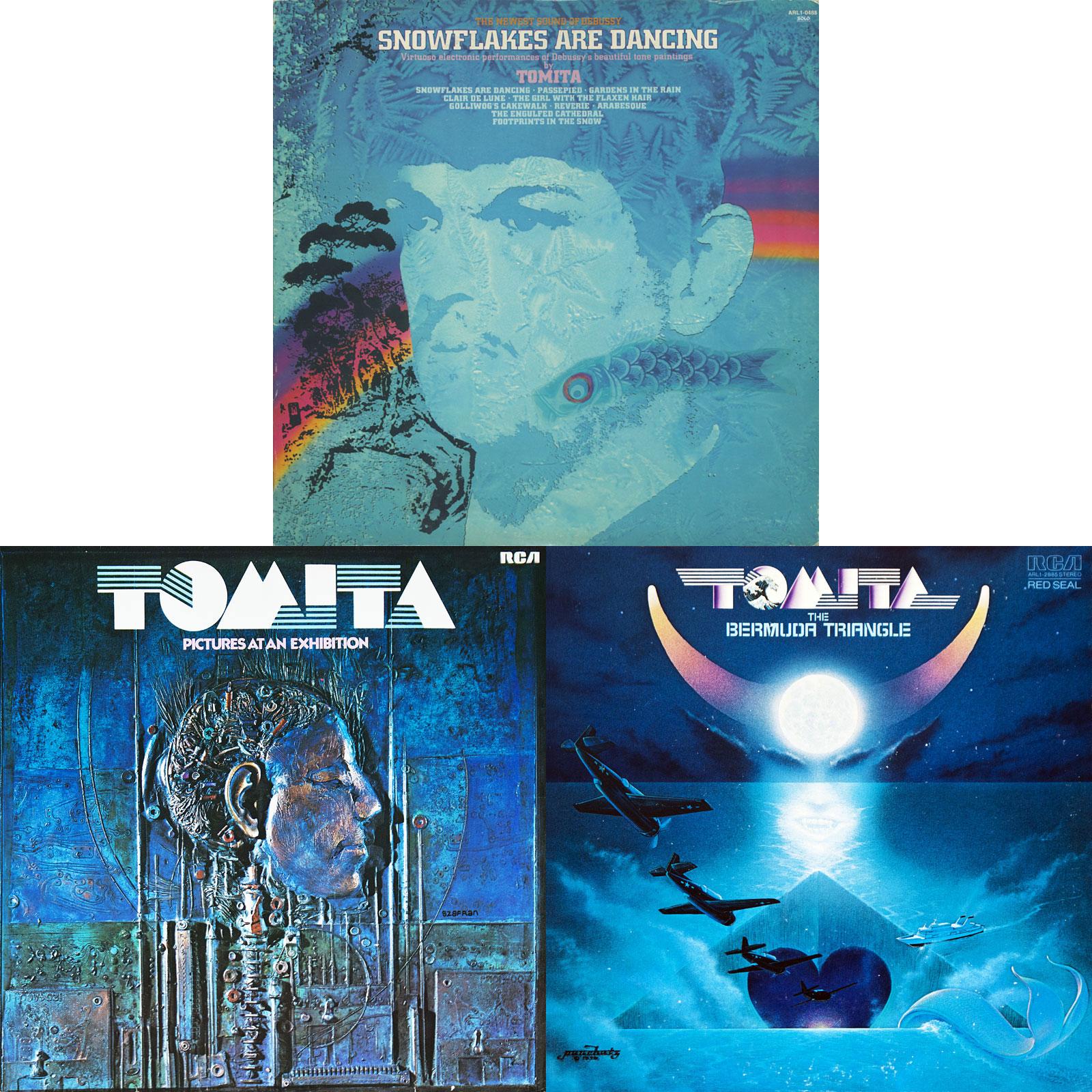Isao Tomita: Collection (1974-1978) [3LP, Vinyl Rip 16/44 & mp3-320 + DVD]