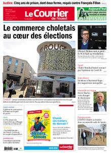 Le Courrier de l'Ouest Cholet – 11 mars 2020