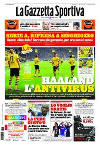 La Gazzetta dello Sport Roma – 17 maggio 2020