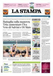 La Stampa Torino Provincia e Canavese - 9 Agosto 2018