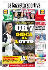 La Gazzetta dello Sport Roma – 26 gennaio 2020