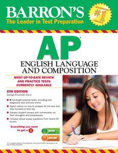 Barron's AP English Language and Composition, 6th Edition (repost)