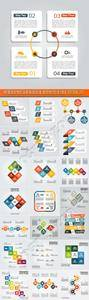 Infographic and diagram business design vector 137
