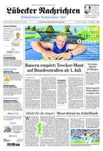 Lübecker Nachrichten Ostholstein Süd - 27. Juni 2018
