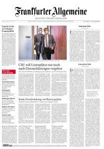 Frankfurter Allgemeine Zeitung - 22 März 2021