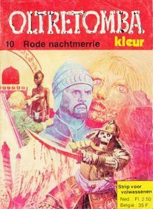 "(Nieuwe Strip 2018 21) [01/10] - ""Oltretomba Kleur - 10 - Rode Nachtmerrie.cbr"""