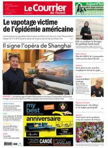 Le Courrier de l'Ouest Angers – 06 novembre 2019