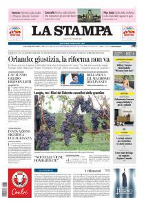 La Stampa Torino Provincia e Canavese - 7 Settembre 2019