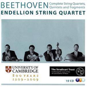 Endellion String Quartet - Beethoven: Complete String Quartets, Quintets and fragments (2009) (10 CDs Box Set)