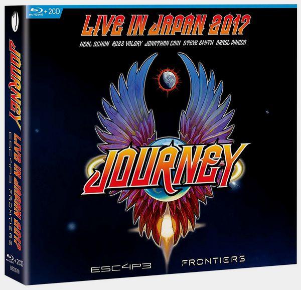 Journey - Live in Japan 2017 (2019) [Blu-ray, 1080i + 2DVD]