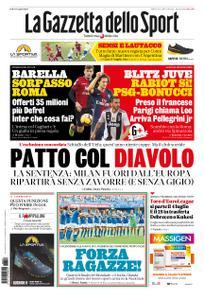 La Gazzetta dello Sport Roma – 29 giugno 2019