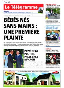 Le Télégramme Brest Abers Iroise – 20 août 2019