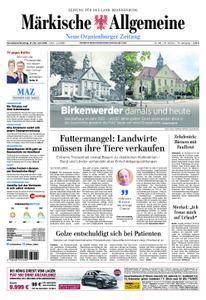 Neue Oranienburger Zeitung - 21. Juli 2018
