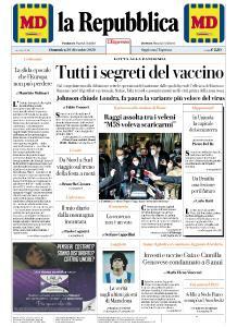 la Repubblica - 20 Dicembre 2020