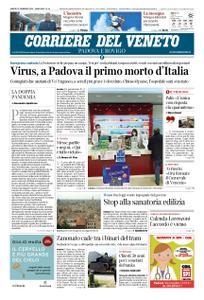 Corriere del Veneto Padova e Rovigo – 22 febbraio 2020