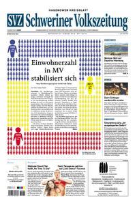 Schweriner Volkszeitung Hagenower Kreisblatt - 21. August 2019
