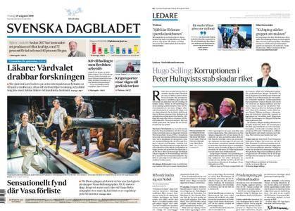 Svenska Dagbladet – 28 augusti 2018