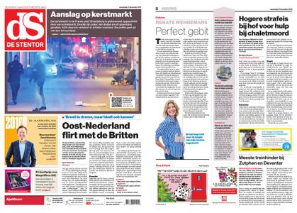 De Stentor - Apeldoorn – 12 december 2018