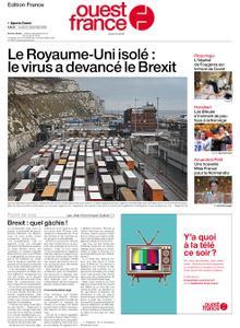 Ouest-France Édition France – 21 décembre 2020