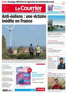 Le Courrier de l'Ouest Nord Anjou – 20 avril 2021