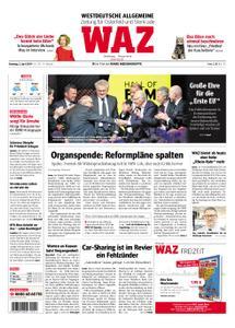 WAZ Westdeutsche Allgemeine Zeitung Oberhausen-Sterkrade - 02. April 2019