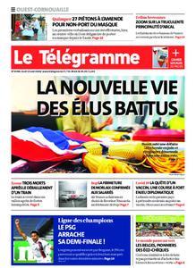 Le Télégramme Ouest Cornouaille – 13 août 2020