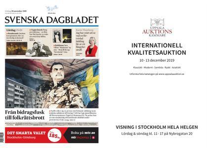 Svenska Dagbladet – 30 november 2019