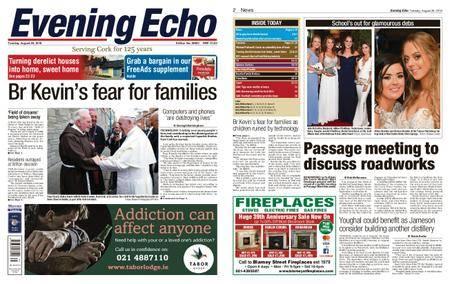 Evening Echo – August 28, 2018