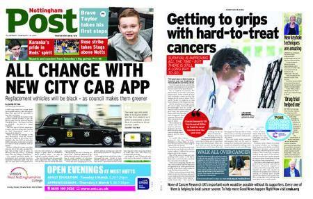 Nottingham Post – February 19, 2018