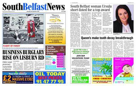 South Belfast News – September 14, 2017