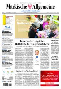 Märkische Allgemeine Luckenwalder Rundschau - 14. Dezember 2018