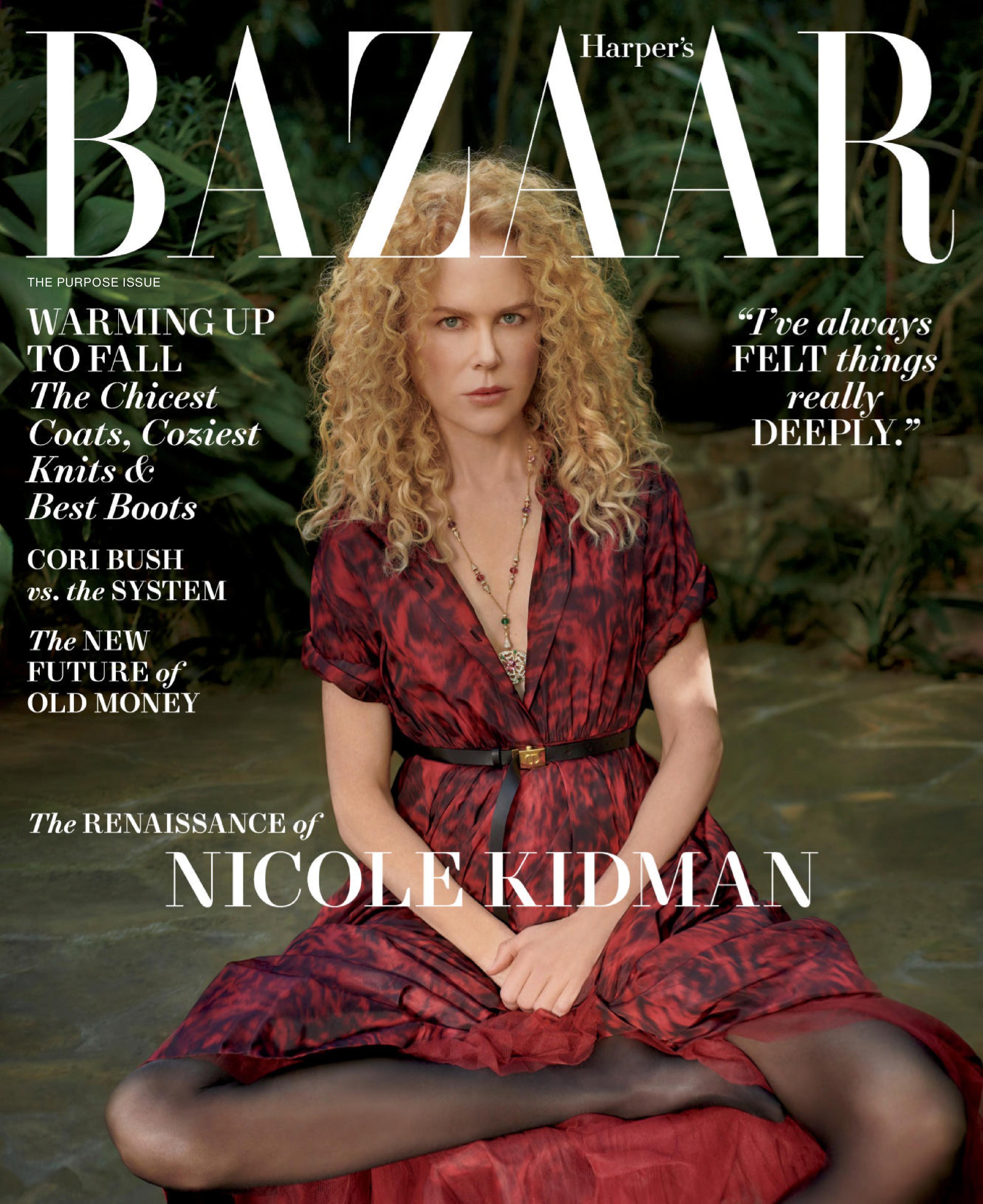 Harper's Bazaar USA - October 2021