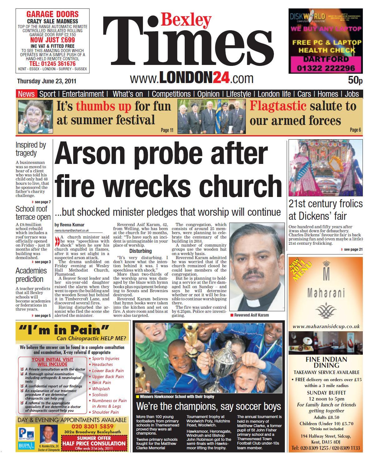 TIMES LONDON24  23 29 JUNE 2011
