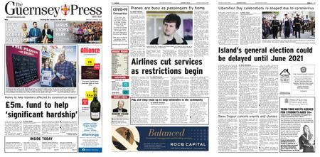 The Guernsey Press – 19 March 2020