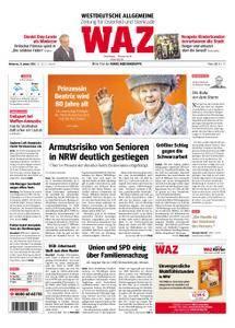 WAZ Westdeutsche Allgemeine Zeitung Oberhausen-Sterkrade - 31. Januar 2018