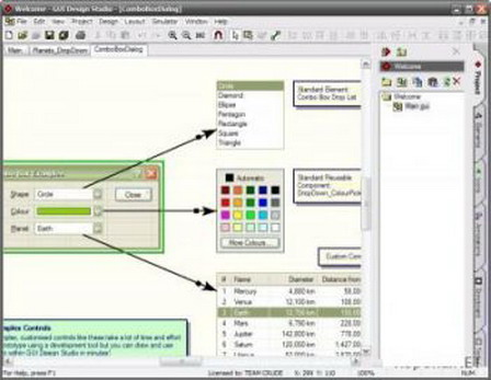 GUI Design Studio Professional 4.2.116.0