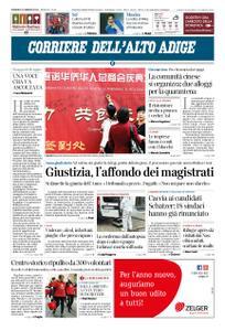 Corriere dell'Alto Adige – 02 febbraio 2020