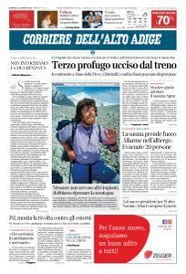 Corriere dell'Alto Adige - 14 Gennaio 2018