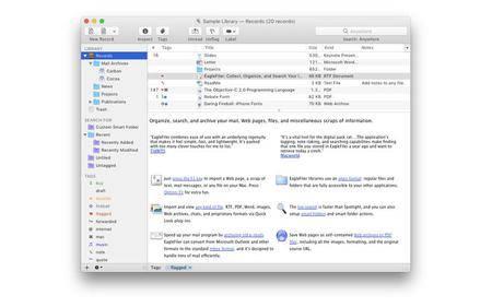 EagleFiler 1.7.5 Mac OS X