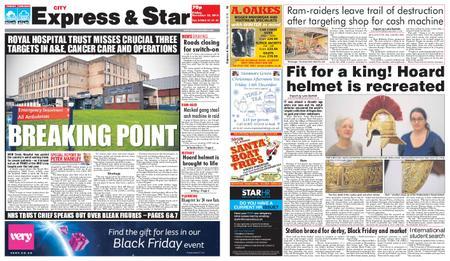 Express and Star City Edition – November 23, 2018