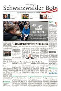 Schwarzwälder Bote Hechingen - 04. Oktober 2019