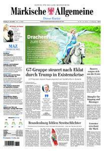 Märkische Allgemeine Dosse Kurier - 11. Juni 2018