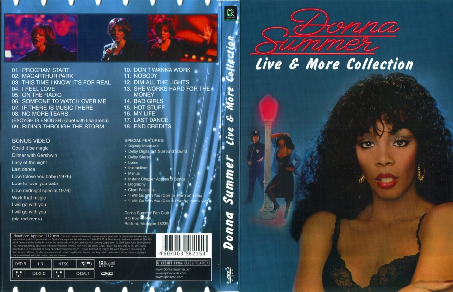 Donna Summer - Live & More Collection (1999) / AvaxHome