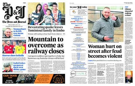 The Press and Journal Moray – October 12, 2018